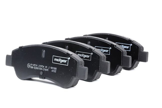 Brake Pad Set, disc brake Width: 136,8mm, Height: 51,6mm, Thickness: 19mm with OEM Number 4252.39