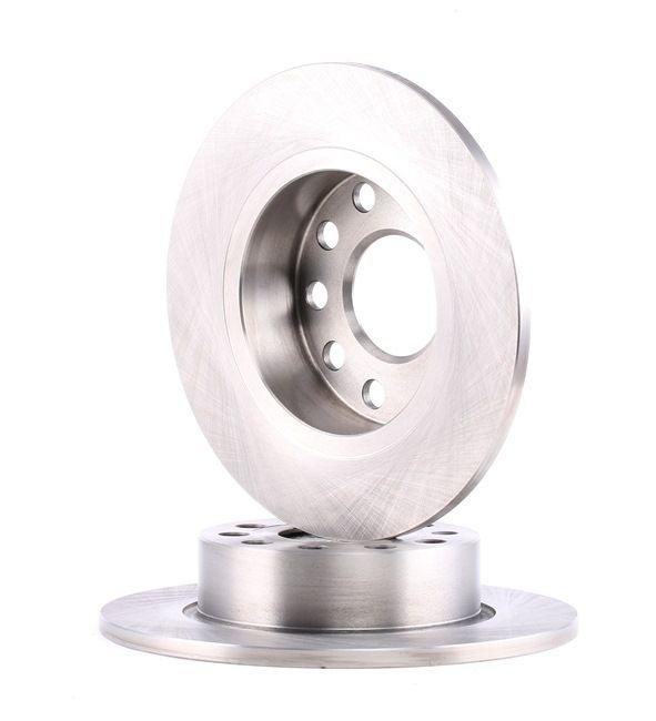 Bremsscheibe Bremsscheibendicke: 9,6mm, Lochanzahl: 9, Ø: 255mm mit OEM-Nummer 1K0 615 601AB