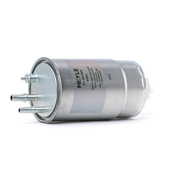MEYLE ORIGINAL Quality, Leitungsfilter, ohne Filterheizung 2143230004