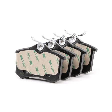 Bremsbelagsatz, Scheibenbremse Dicke/Stärke 1: 15,0mm mit OEM-Nummer 1H0 698 451 H