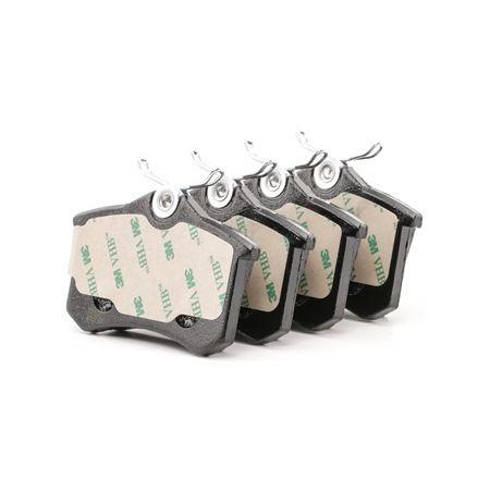 Bremsbelagsatz, Scheibenbremse Dicke/Stärke 1: 17,0mm mit OEM-Nummer 1H0 698 451