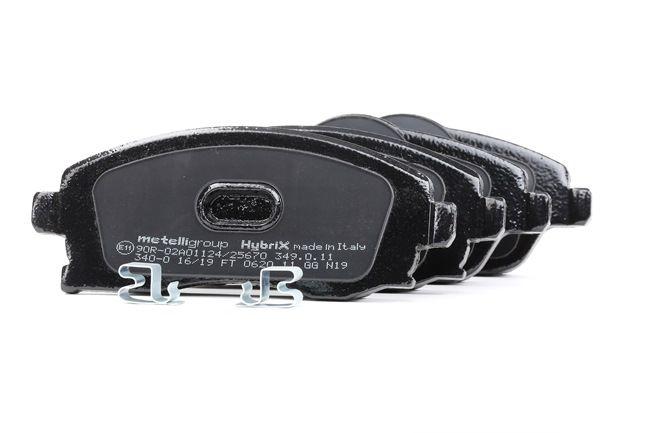 Bremsbelagsatz, Scheibenbremse Breite 2: 131,4mm, Höhe 2: 55,6mm, Dicke/Stärke 1: 17,0mm, Dicke/Stärke 2: 17,0mm mit OEM-Nummer 9200 108