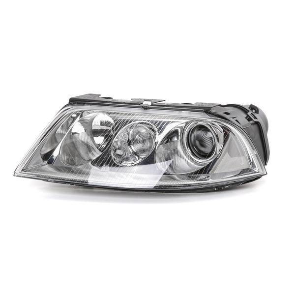 HELLA Фарове VW ляво, D2S/H7, D2S (газоразрядна лампа), W5W, H7, с позициониращ двигател за регулиране далечината на осветено, без газоразрядна лампа, без пусково-регулиращ уред, биксенон, халогенен, без лампа с подгревна жичка