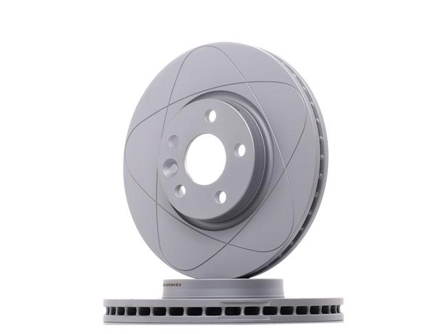 ATE PowerDisc belüftet, beschichtet, hochgekohlt, mit Schrauben 24032801541