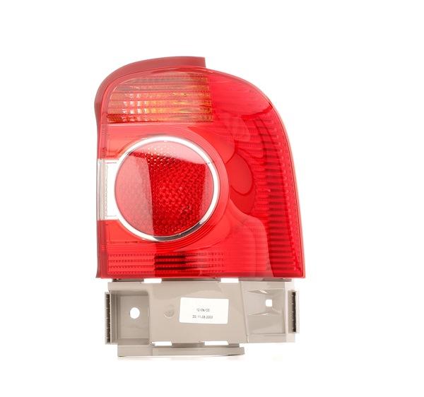 HELLA rechts, mit Lampenträger, äusserer Teil, P21/5W, P21W, mit Glühlampen 2VA964957021