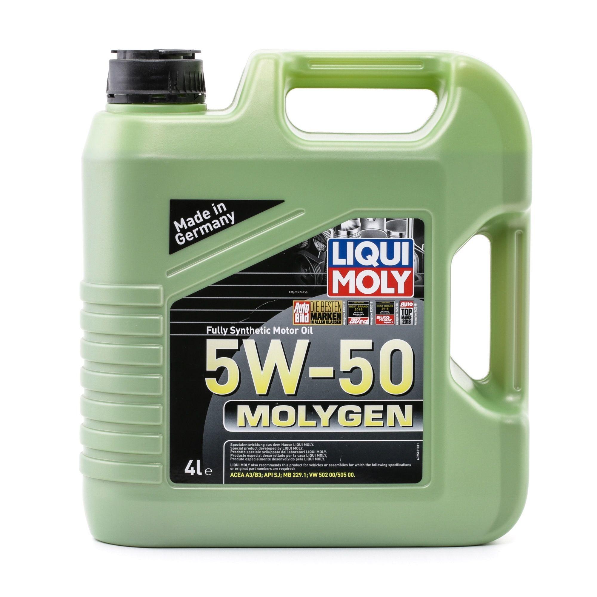 ol LIQUI MOLY VW50500 Bewertung
