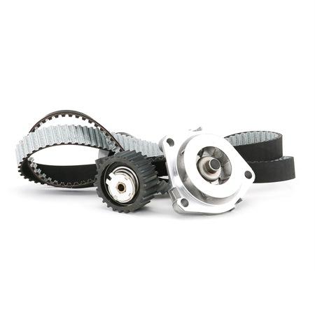 Timing belt kit and water pump METELLI 241352
