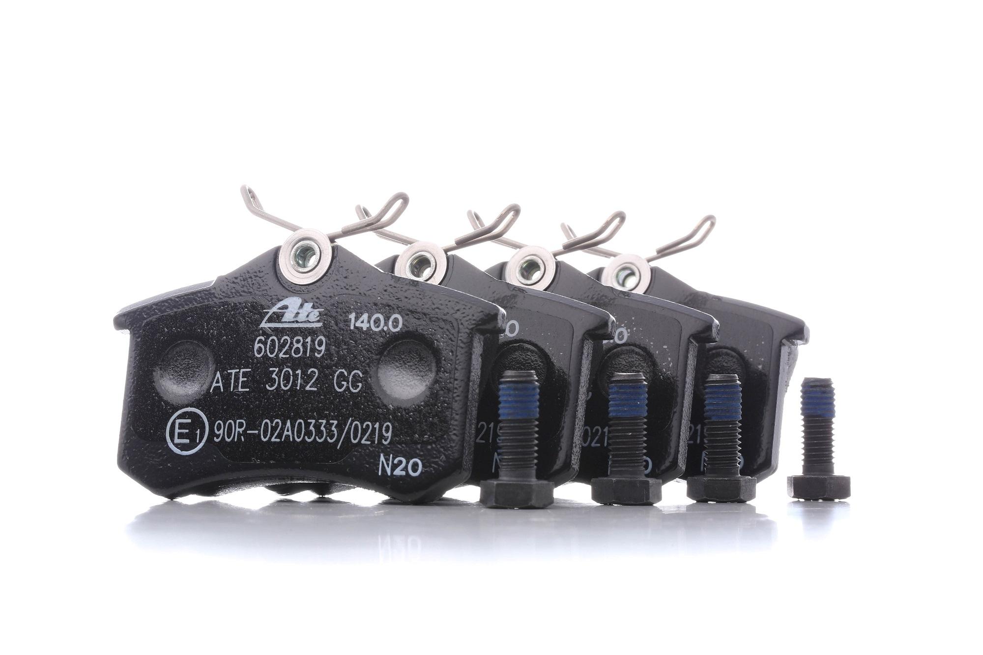 Bremsbelagsatz ATE 602819 Bewertung
