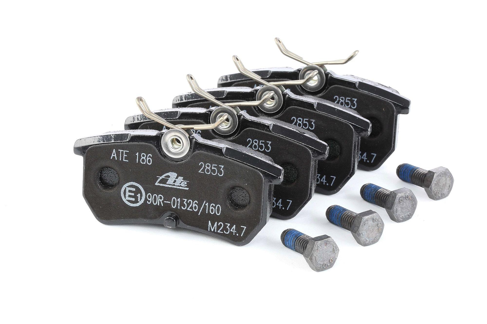 Disk brake pads ATE 602835 rating