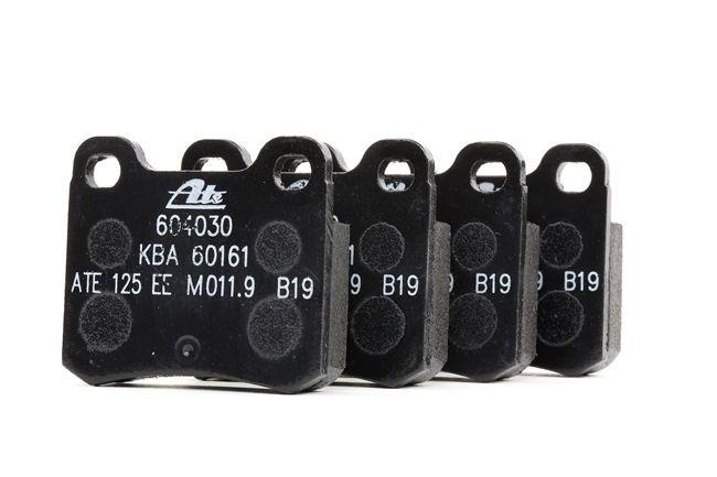 Bremsbelagsatz, Scheibenbremse Breite: 61,8mm, Höhe: 54,3mm, Dicke/Stärke: 13,5mm mit OEM-Nummer A00 142 00 120