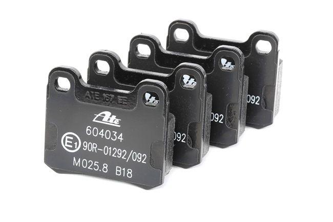 Bremsbelagsatz, Scheibenbremse Breite: 61,8mm, Höhe: 54,3mm, Dicke/Stärke: 15,5mm mit OEM-Nummer 000420 98 20