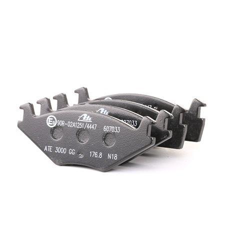 Bremssystem : ATE 13046070332 Bremsbelagsatz, Scheibenbremse