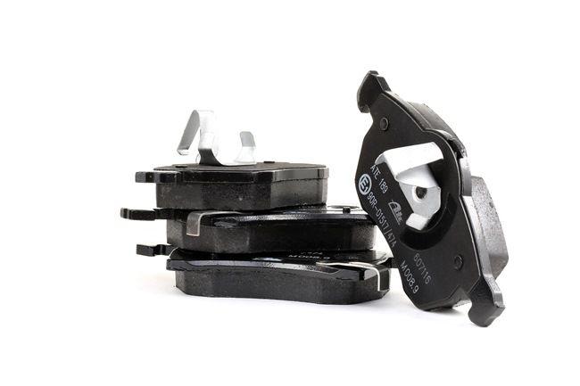 Спирачни накладки ATE 23059 без сензор за износване, с акустично предупреждение за износване