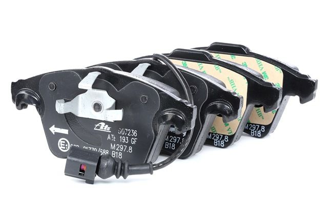Disk brake pads ATE 23749 incl. wear warning contact