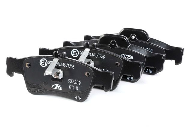 Bremseklosser ATE 24863 klargjort for slitasjeindikator, ekskl. slitasjevarselkontakt