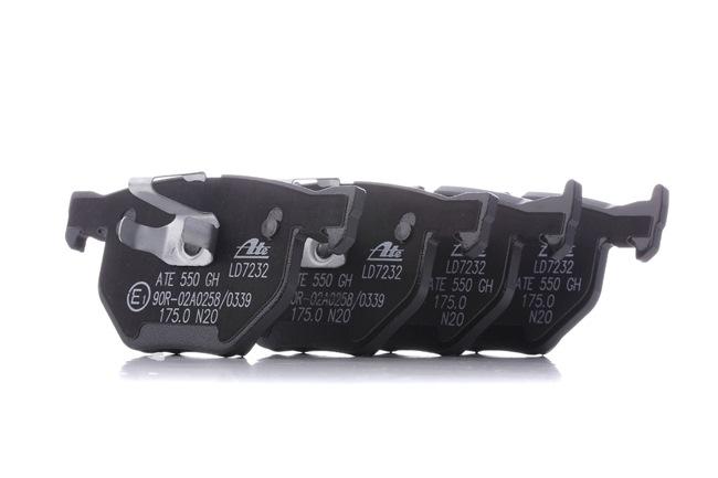 ATE Ceramic für Verschleißwarnanzeiger vorbereitet, exkl. Verschleißwarnkontakt 13047072322
