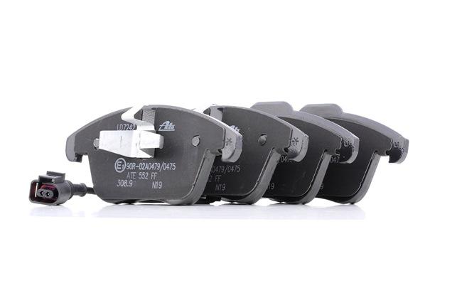 Bremssystem : ATE 13047072422 Bremsbelagsatz, Scheibenbremse Ceramic