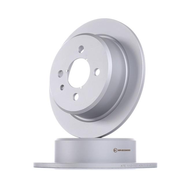 Frenos de disco ATE 410150 Macizo, revestido