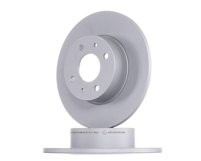 Disco freno 24.0110-0190.1 LYBRA SW (839BX) 1.9 JTD ac 2005