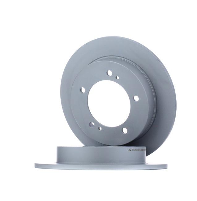 Frenos de disco ATE 410242 Macizo, revestido
