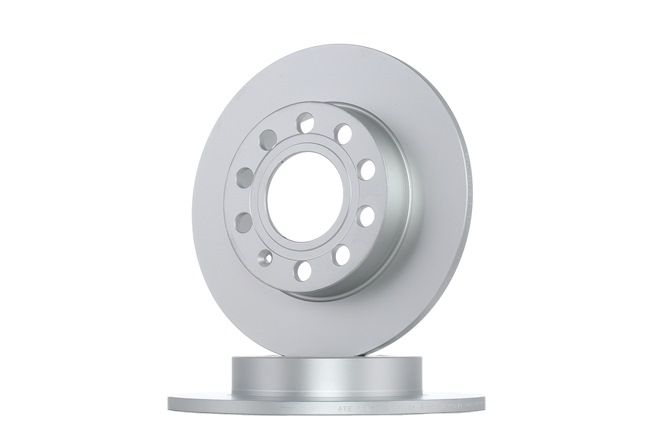 Frenos de disco ATE 410261 Macizo, revestido, con tornillos