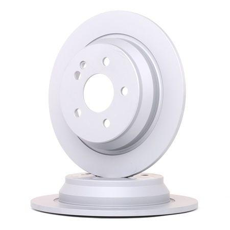Frenos de disco ATE 410280 Macizo, revestido, con tornillos