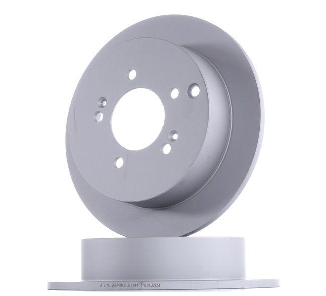 OEM ATE 24.0110-0286.1 HYUNDAI i10 Brake disc set
