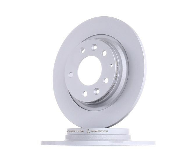 Brake discs and rotors ATE 410302 Solid, Coated