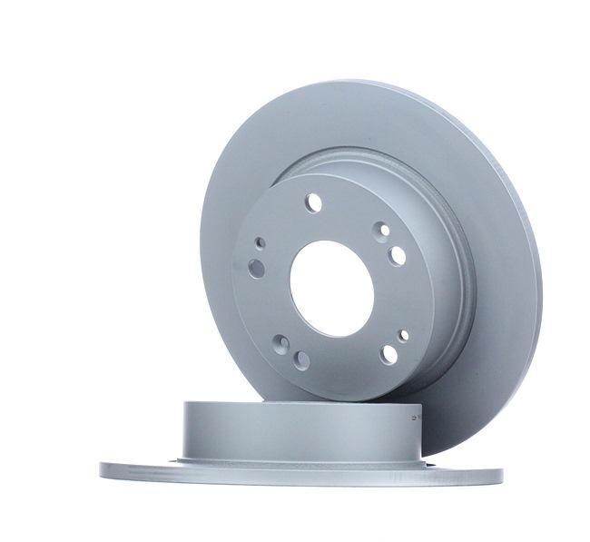 Frenos de disco ATE 410321 Macizo, revestido