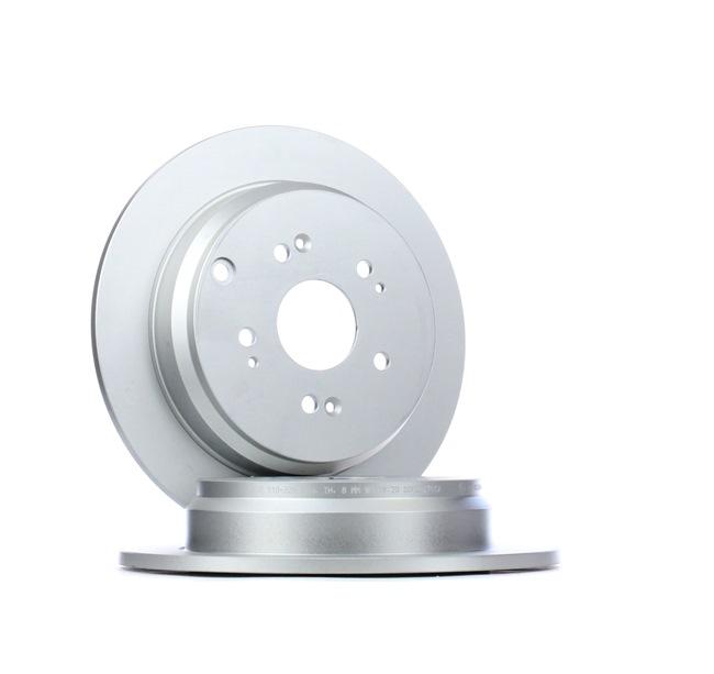 Frenos de disco ATE 410329 Macizo, revestido, con tornillos