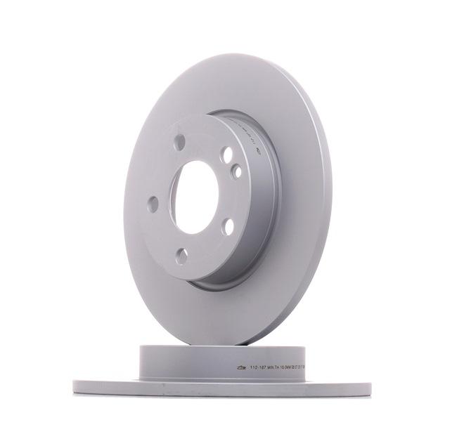 Bremsscheibe Bremsscheibendicke: 12,0mm, Lochanzahl: 5, Ø: 276,0mm mit OEM-Nummer A169 421 00 12
