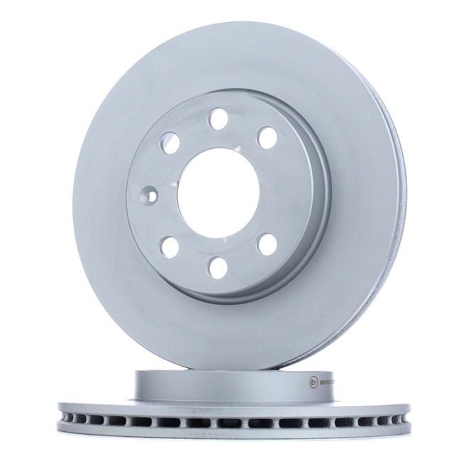 ATE Комплект спирачни дискове OPEL вентилиран, с покритие, с винтове