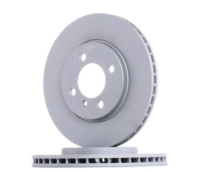 Frenos de disco ATE 422122 ventilado, revestido, aleado/alt. carburado
