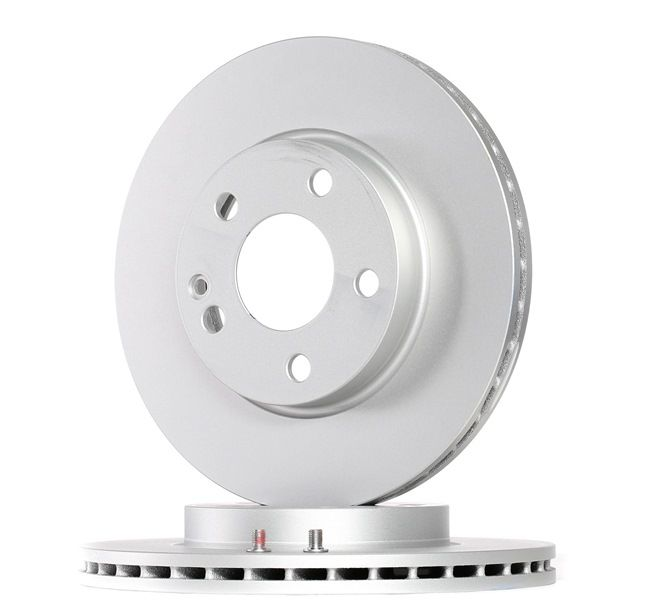 Brake discs and rotors ATE 422232 Vented, Coated, Alloyed / High-carbon, with screws