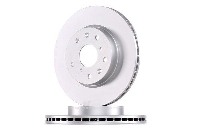 Frenos de disco ATE 422252 ventilado, revestido