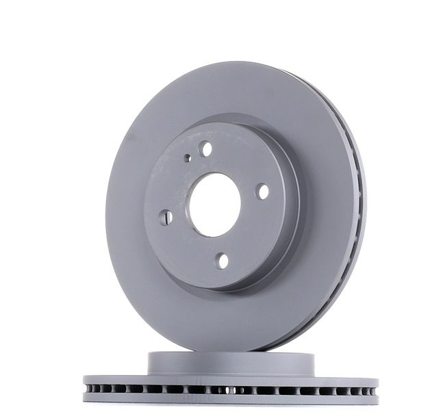 Brake discs and rotors ATE 423112 Vented, Coated, High-carbon