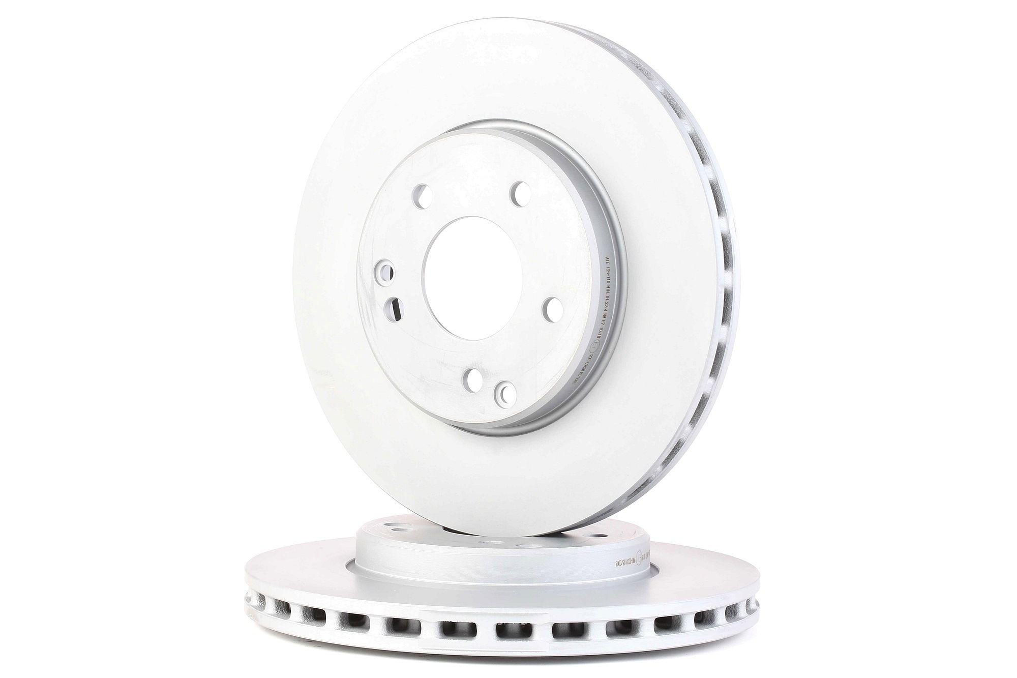 Disco de freno ATE 24.0125-0110.1 evaluación