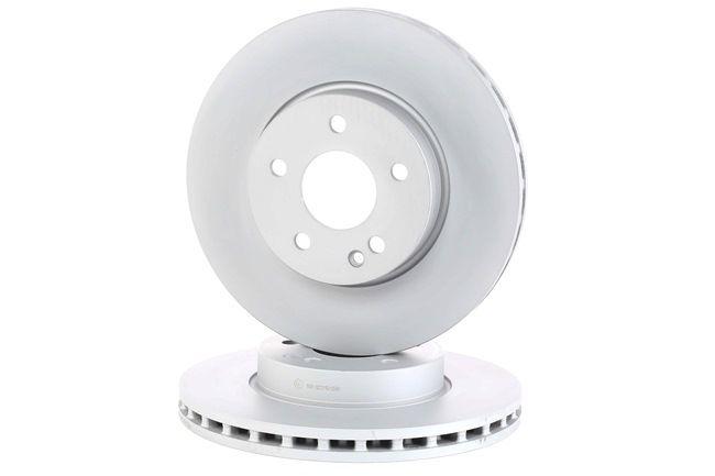 Frenos de disco ATE 428145 ventilado, revestido, aleado/alt. carburado, con tornillos