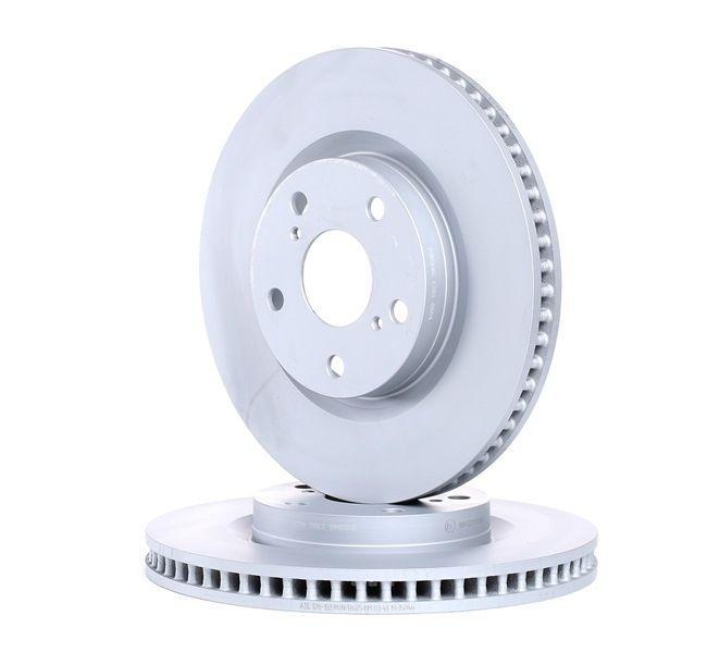 Frenos de disco ATE 428159 ventilado, revestido
