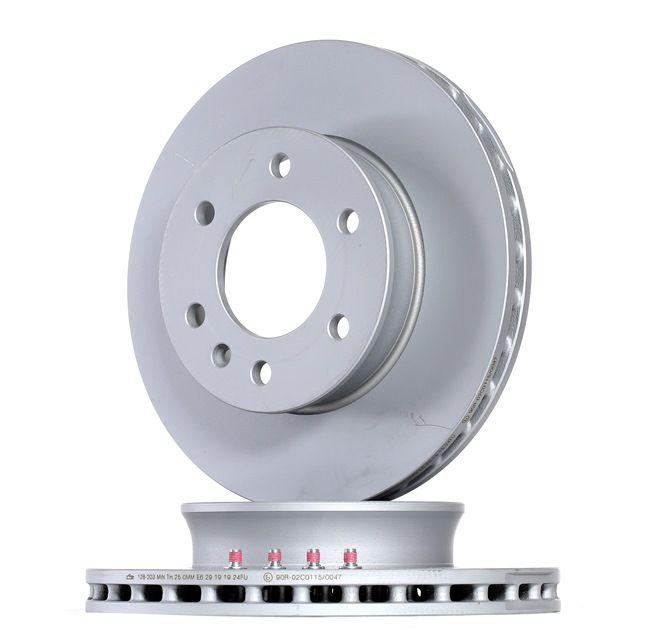 Bremsscheibe 24.0128-0203.1 CRAFTER 30-50 Kasten (2E_) 2.0 TDI Bj 2014