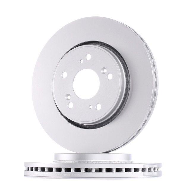 Frenos de disco ATE 428217 ventilado, revestido, con tornillos