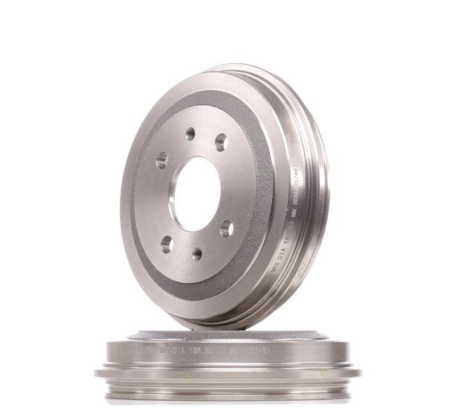 OEM Bremstrommel ATE 480012 für FIAT