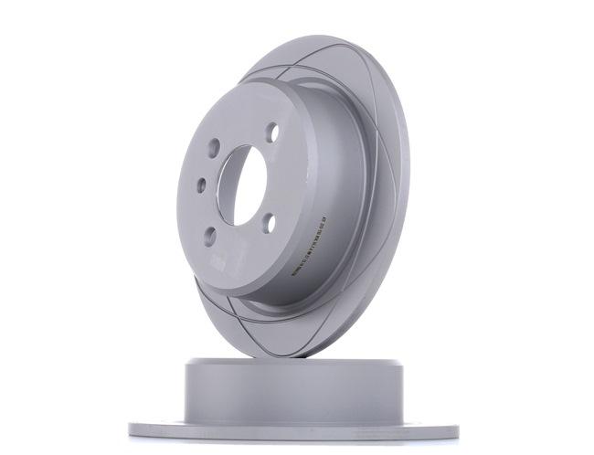 Frenos de disco ATE 510150 Macizo, revestido