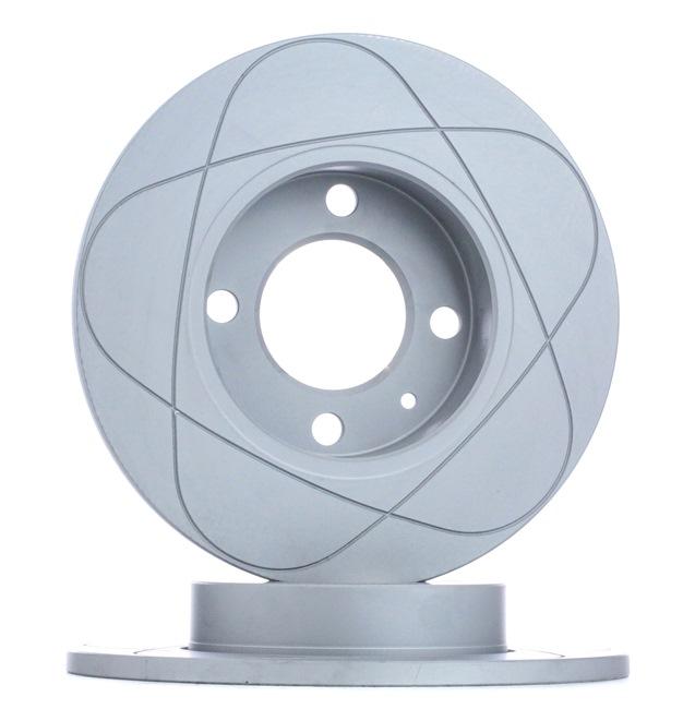 Bremsscheibe Bremsscheibendicke: 10,0mm, Lochanzahl: 4, Ø: 239,0mm mit OEM-Nummer 811.615.301
