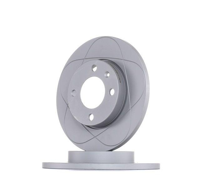 ATE PowerDisc Voll, beschichtet, mit Schrauben 24031201061