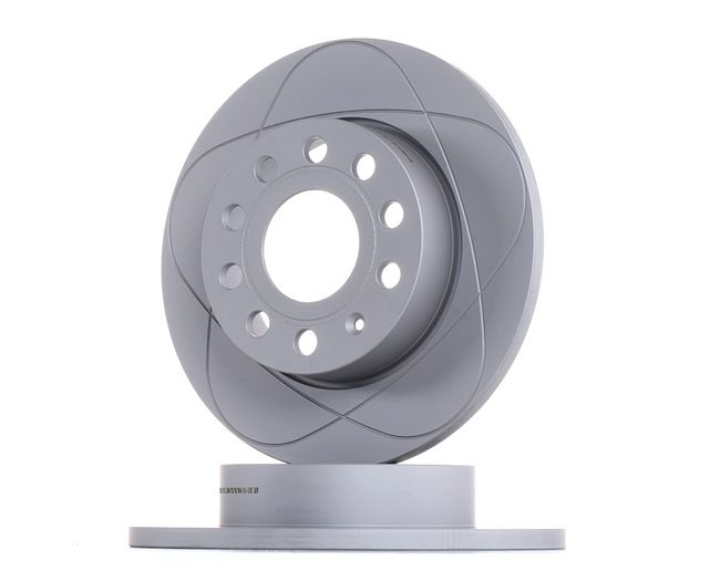 Bremsscheibe Bremsscheibendicke: 12,0mm, Lochanzahl: 5, Ø: 256,0mm mit OEM-Nummer 1K0615601AJ