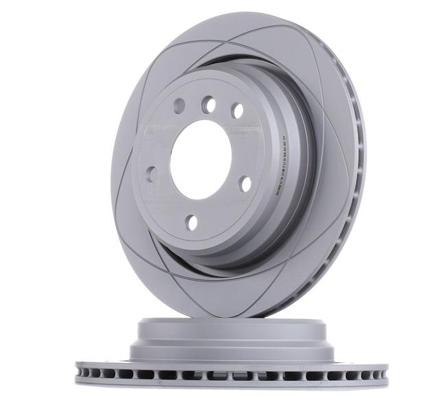 ATE PowerDisc belüftet, beschichtet, hochgekohlt, mit Schrauben 24032001541