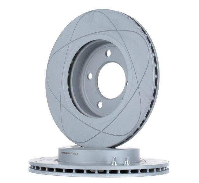 Bremsscheibe Bremsscheibendicke: 22,0mm, Lochanzahl: 5, Ø: 300,0mm mit OEM-Nummer 3411 6 855 152