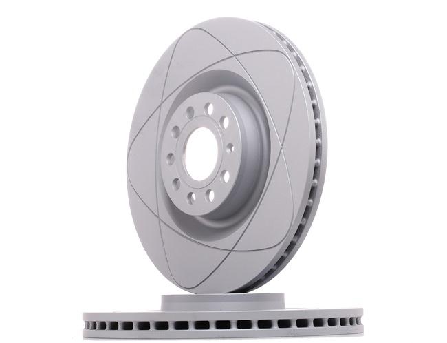 ATE PowerDisc Bremseskiver ventileret, coatet, højkarboniseret