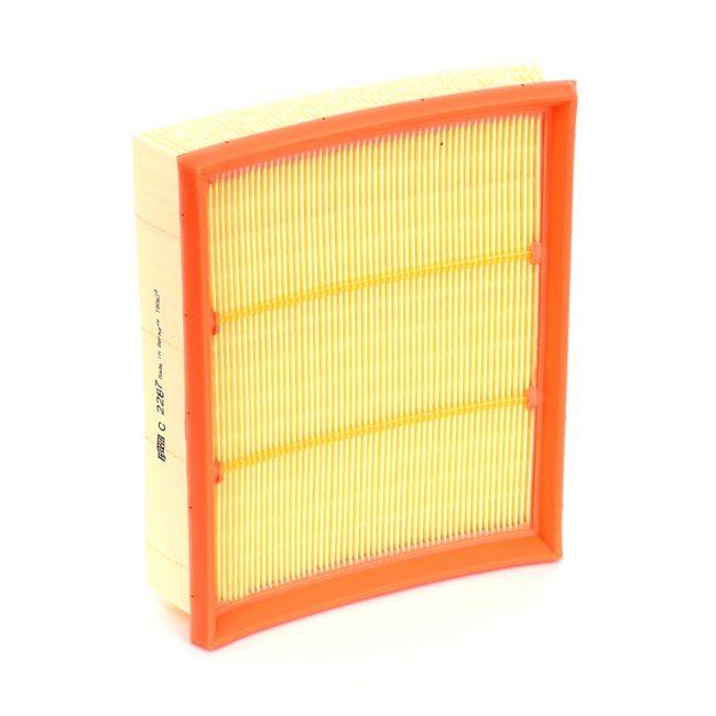MANN-FILTER Motorluftfilter MERCEDES-BENZ Filtereinsatz